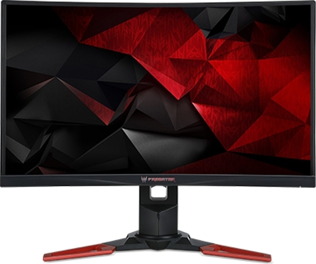 Predator Z321Qbmiphzx - 31.5i Curved 4ms LED - 1800R - 144Hz - G-Sync - 16:9 100M:1 ACM - 300nits - HDMI DP - USB 3.0 Hub - Height adj. - Black   EcoDisplay