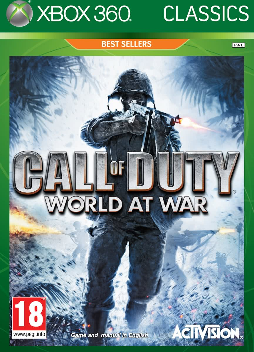 Call Of Duty: World At War - Classics Edition (Compatible met Xbox One)