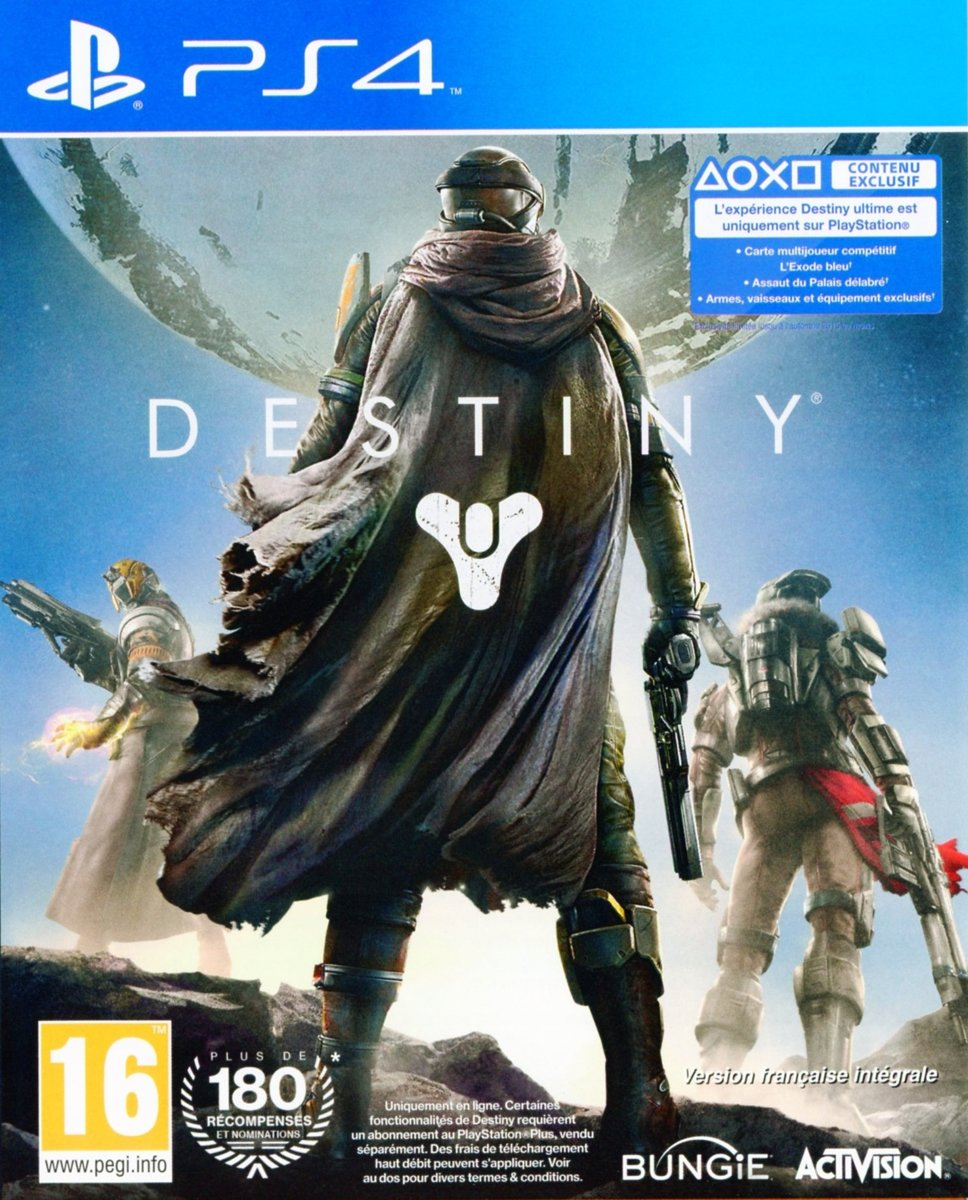 Destiny -ps4