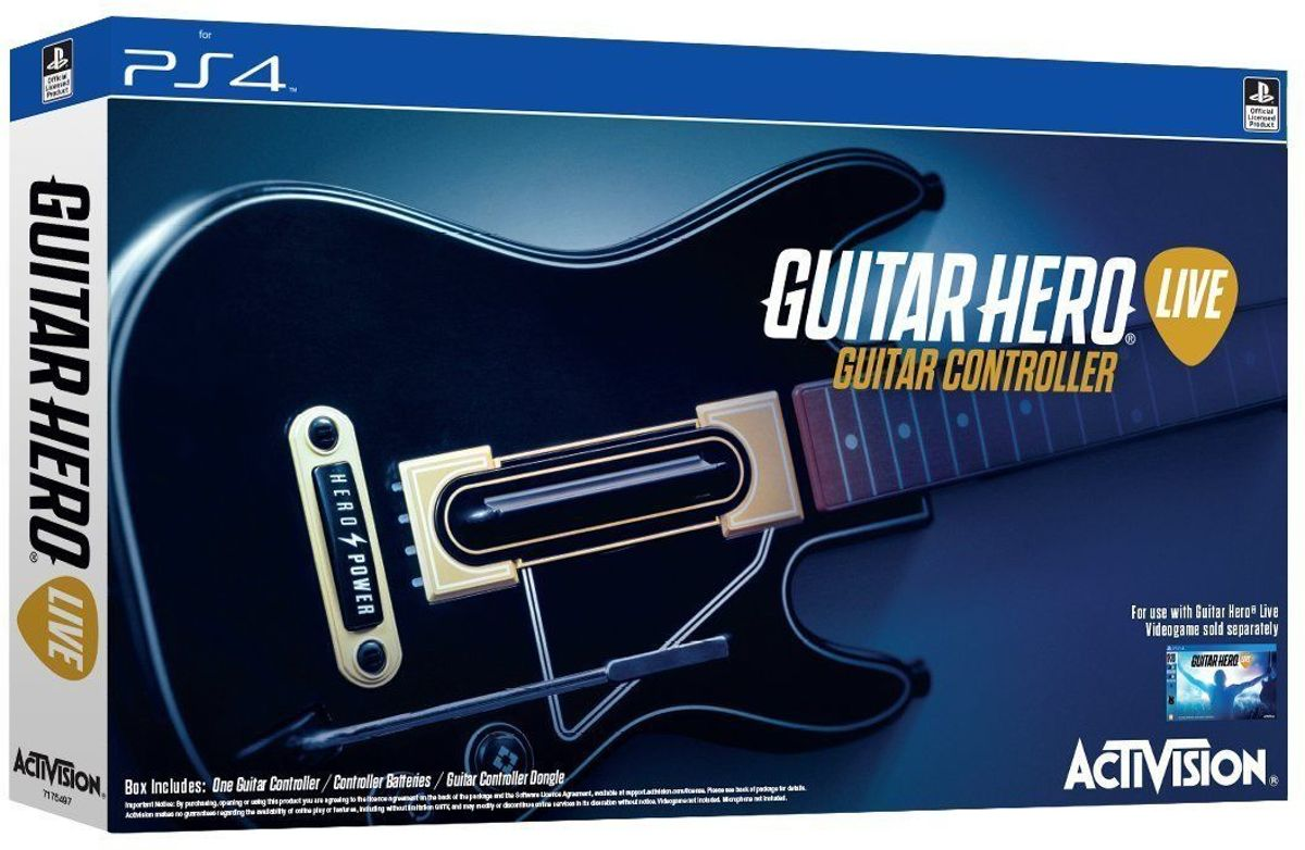Guitar Hero Live Stand Alone Guitar