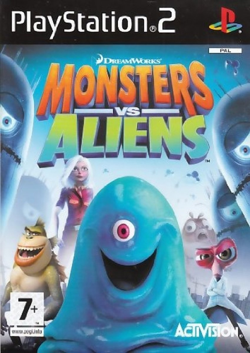 Monsters vs. Aliens /PS2