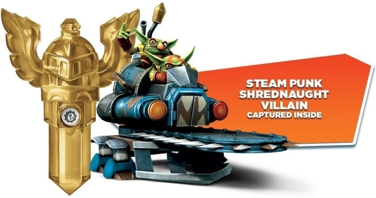 Skylanders Trap Team - Tech Trap (Steampunk Shrednaught...