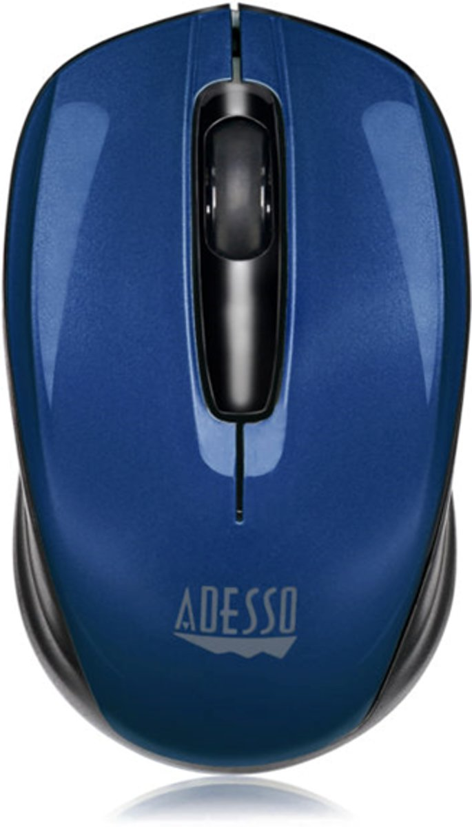 wireless mini mouse (Blauw)
