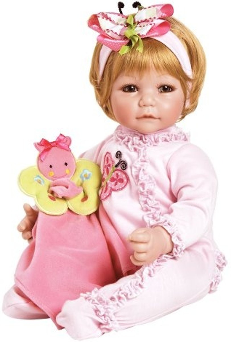 Toddler Time Baby Butterfly Boo Roze Meisjes 51 Cm