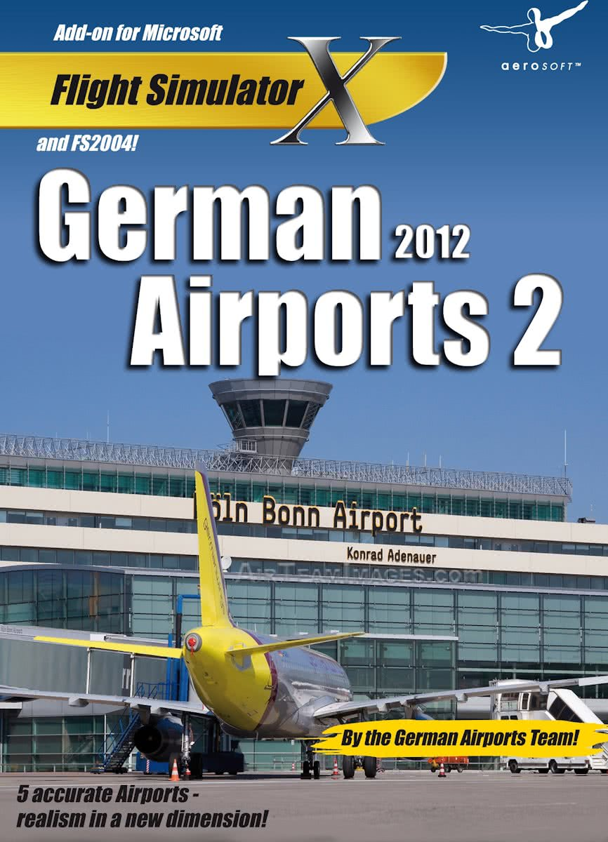German Airports 2 - 2012 (FS X + FS 2004 Add-On) - Windows