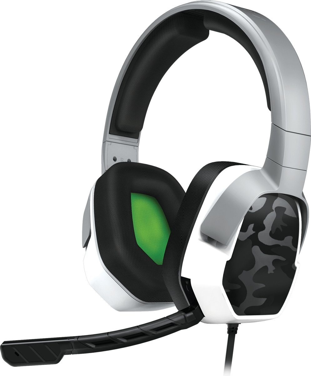 Afterglow LVL 3 - Gaming Headset - Xbox One - Wit Camo