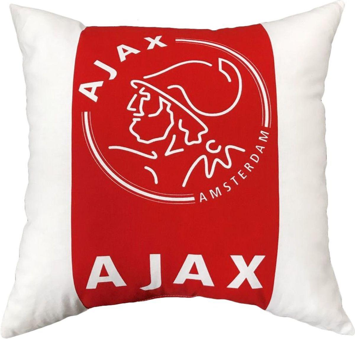 Ajax dekbedovertrek zwart rood zwart 140x200 cm for Ajax kussen