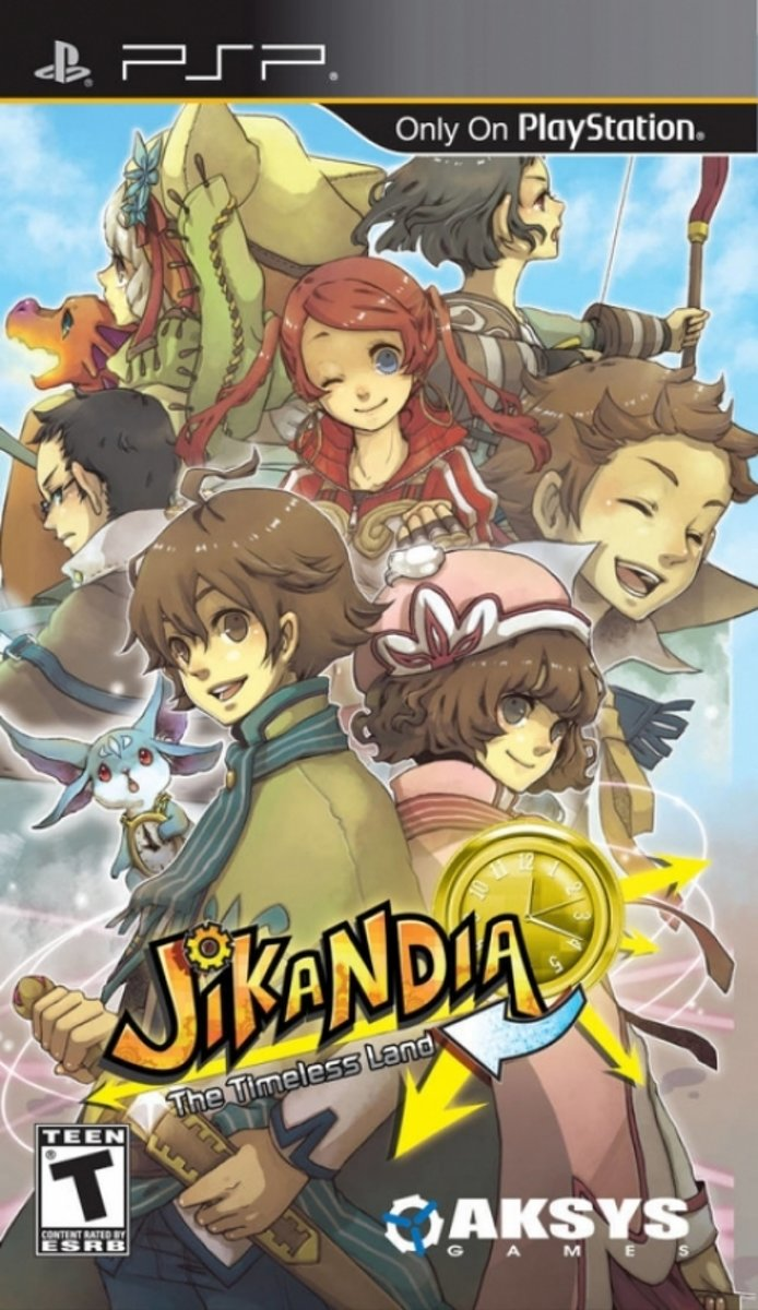 Jikandia: The Timeless Land, PSP