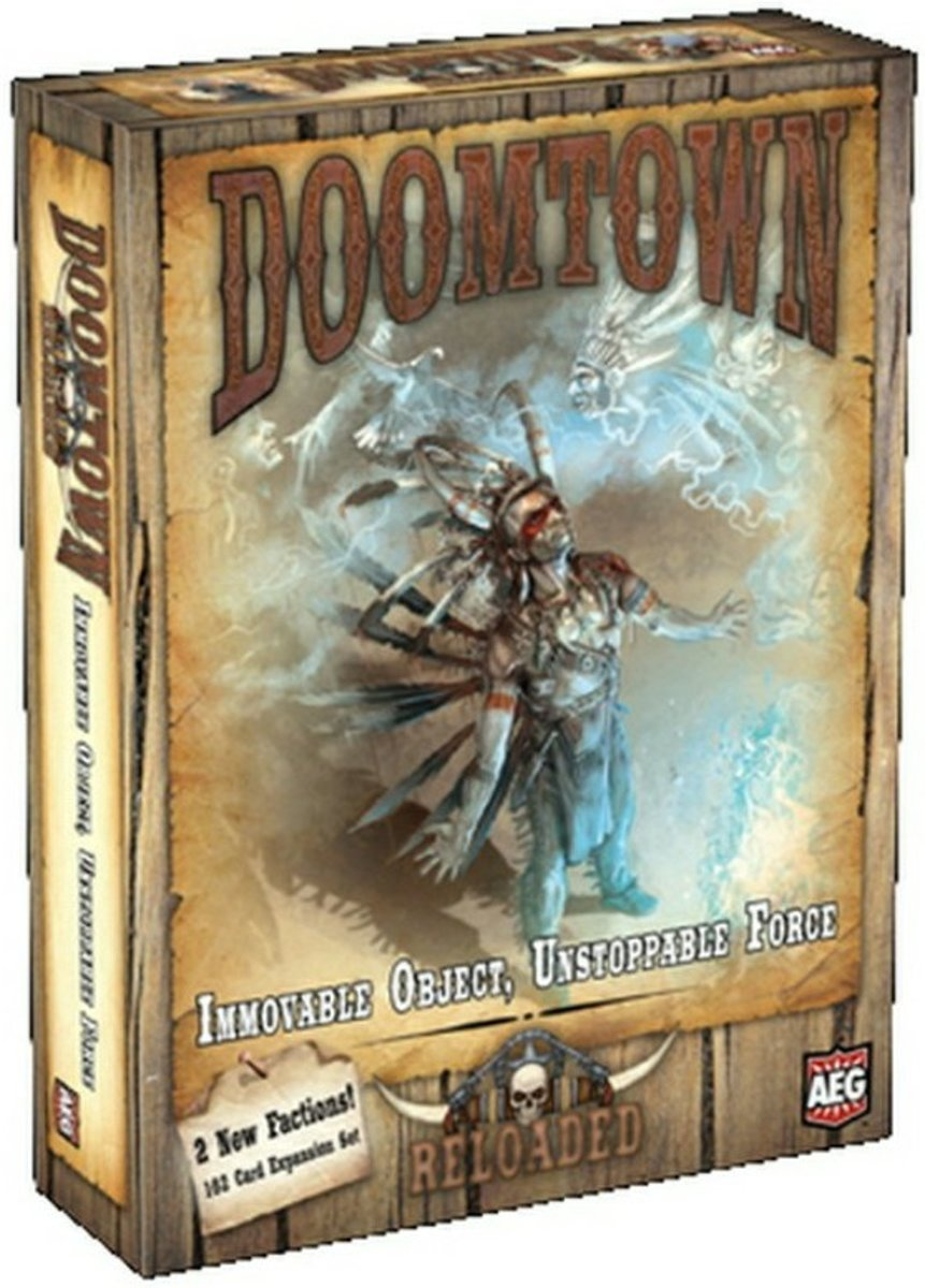 Doomtown Reloaded - Immovable Object, Unstoppable Force Uitbreiding