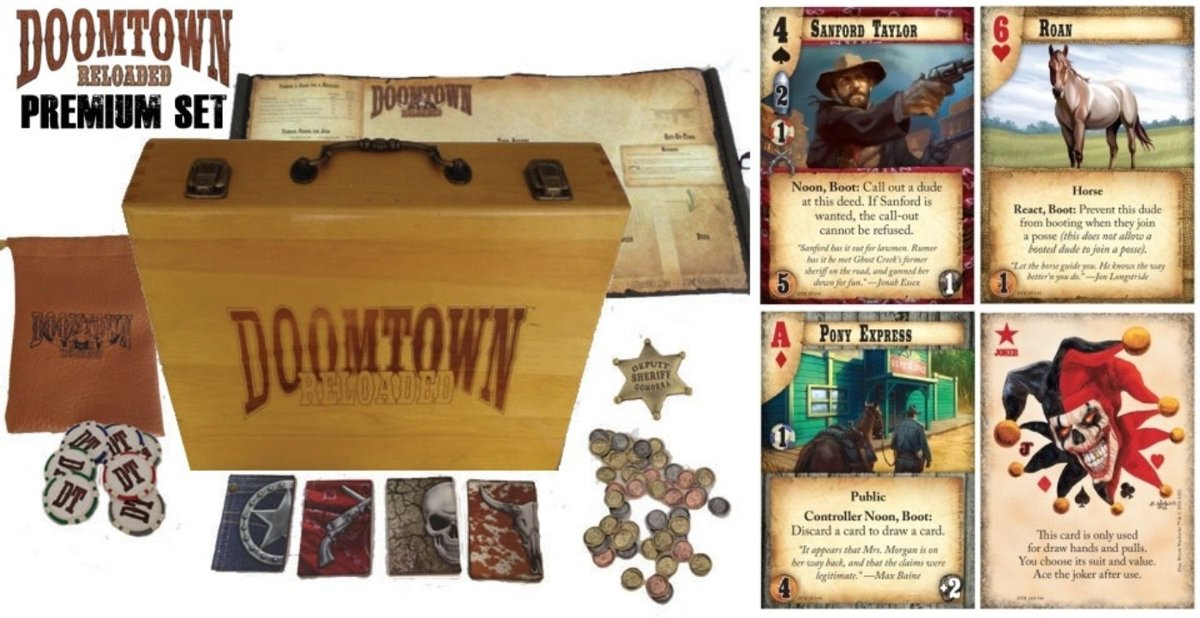 Doomtown Reloaded Premium Set