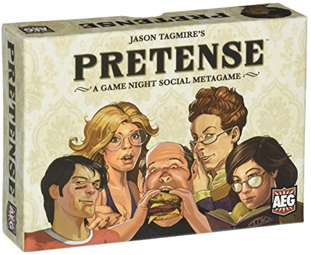 Pretense - A Game Night Social Metagame