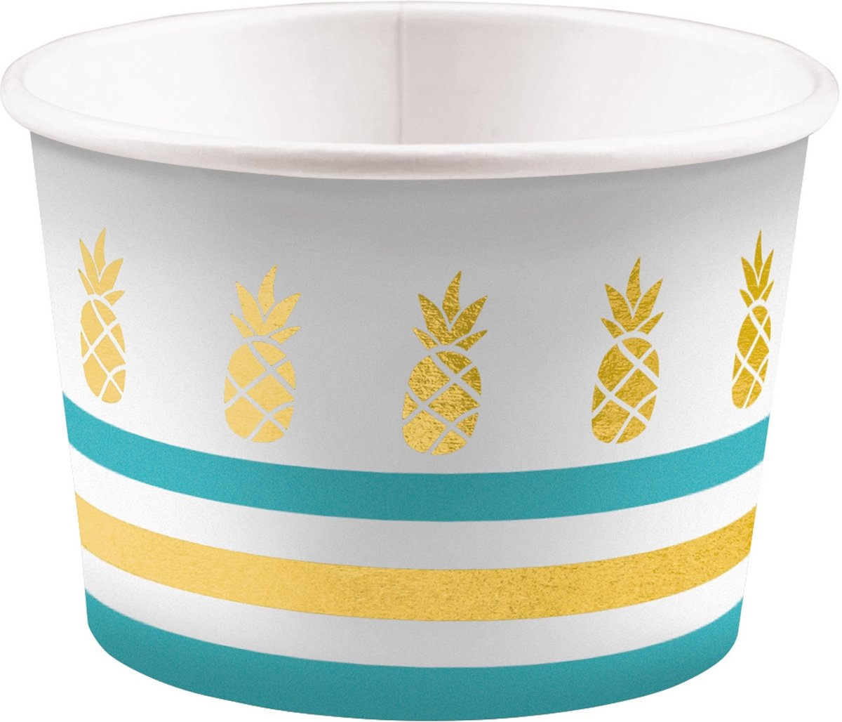 8 Ice Bowls Pineapple Vibes 270ml