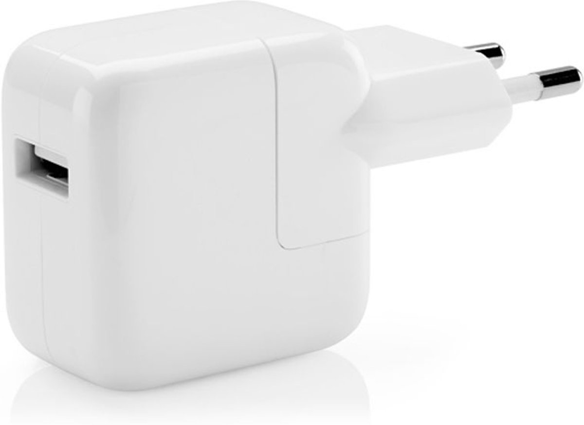 Apple EU 2 Pin Mains Charger 2.4A MD836ZM/A No Cable White