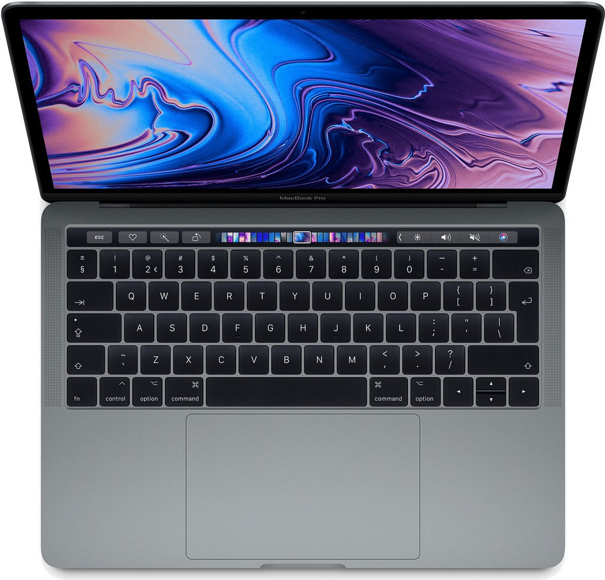 Apple MacBook Pro (2019) Touch Bar - 13.3 Inch - 512 GB / Spacegrijs - Azerty