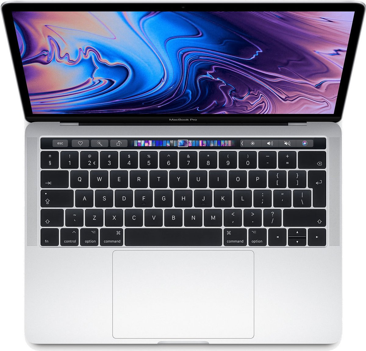 Apple MacBook Pro (2019) Touch Bar - 13.3 Inch - 512 GB / Zilver