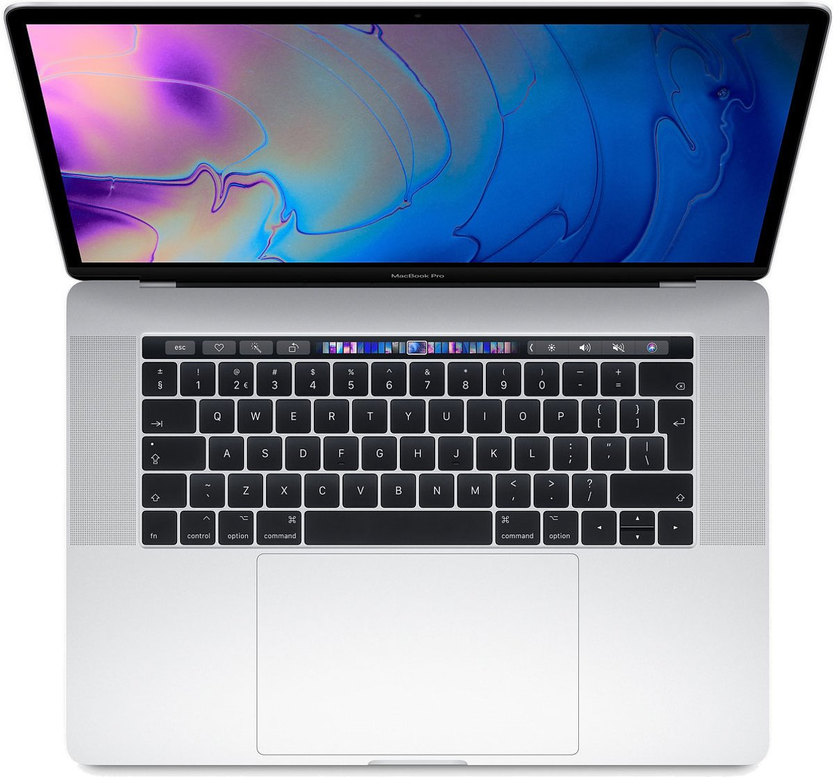 Apple MacBook Pro (2019) Touch Bar - 15.4 Inch - 256 GB / Zilver - Azerty