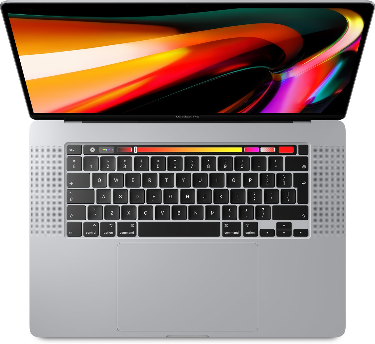 MacBook Pro (2019) Touch Bar MVVM2N - 1TB - 16 inch - Zilver