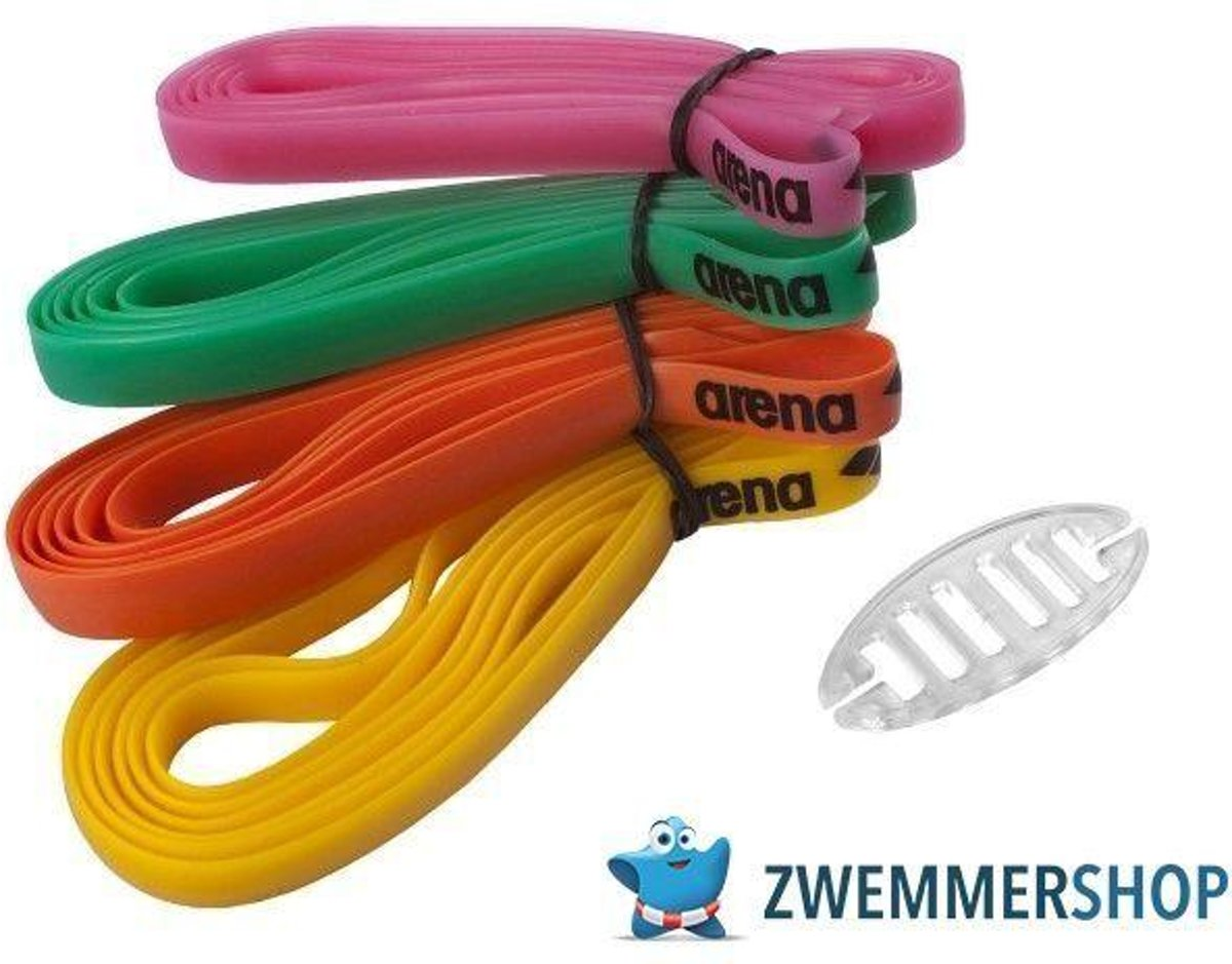 Racing Zwembrillen Silicone Strap Kit
