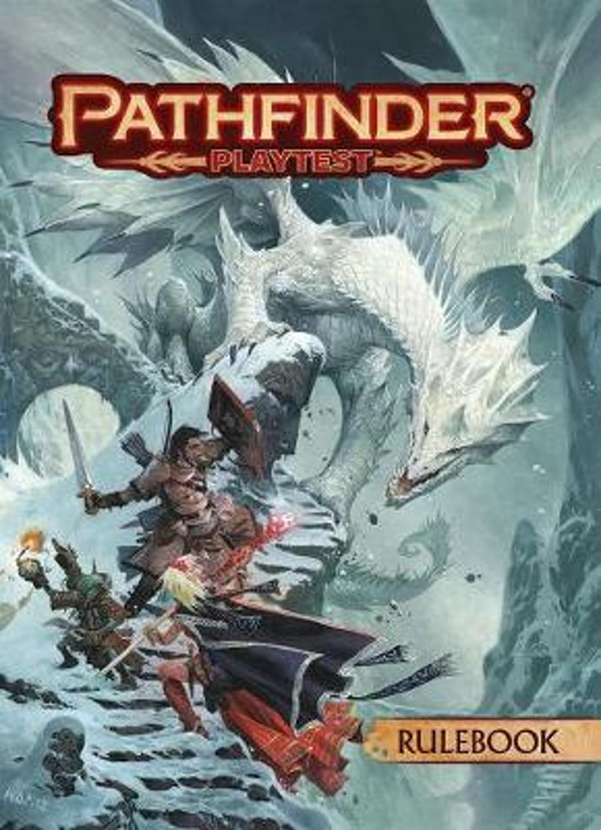 Asmodee Pathfinder 2.0 Playtest Rulebook (Softcover) - EN