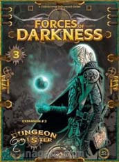 Dungeon Twister - Forces of Darkness (Expansie 3)