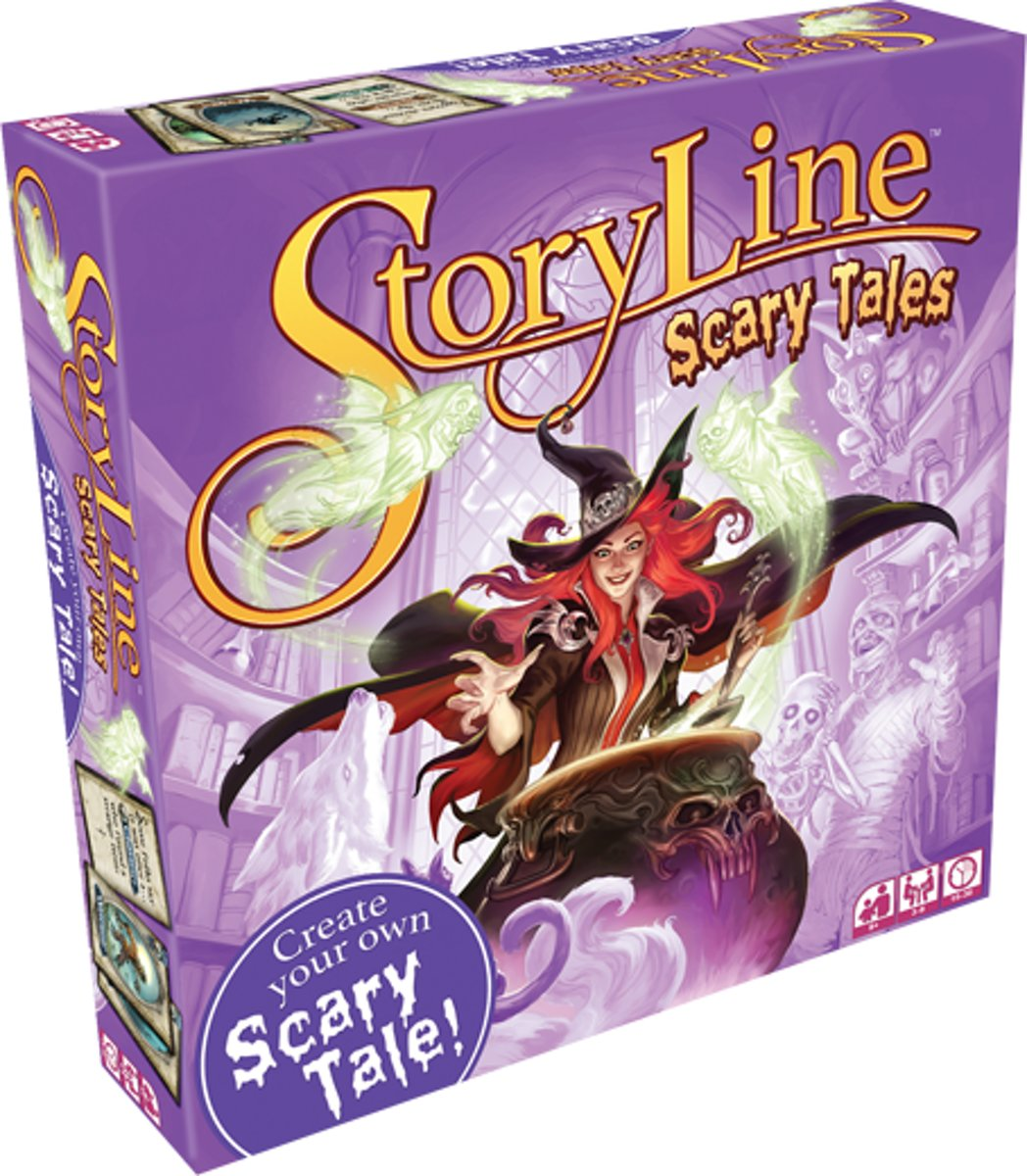 Storyline: Scary Tales (Engelstalig)