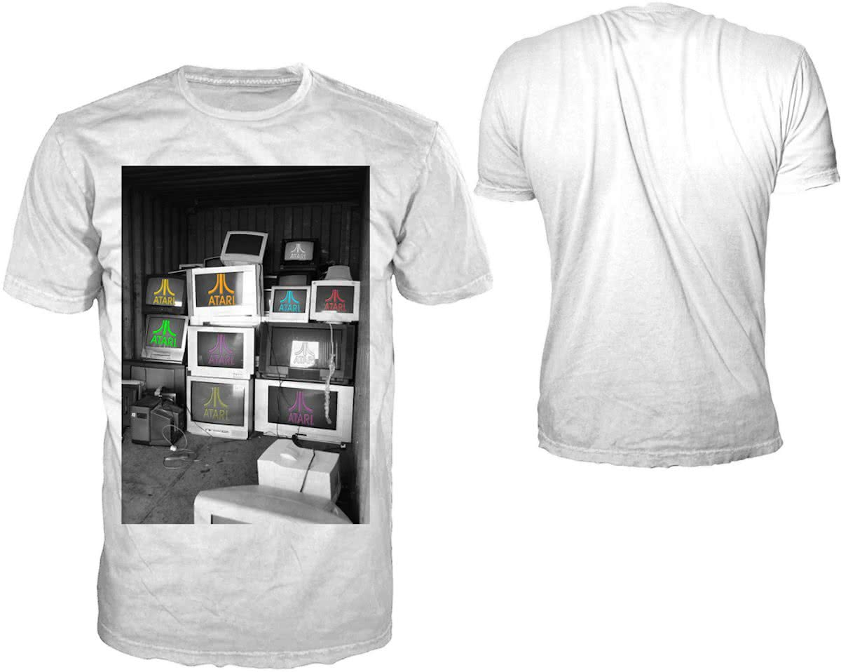 Retro Gaming Monitors Tshirt L