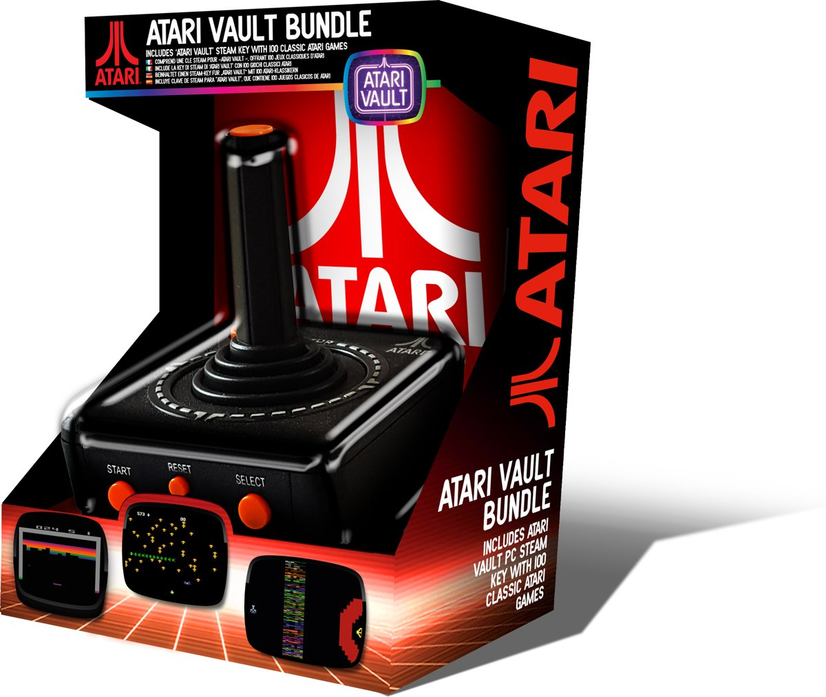 Retro PC USB Joystick – Vault Bundle (100 games)