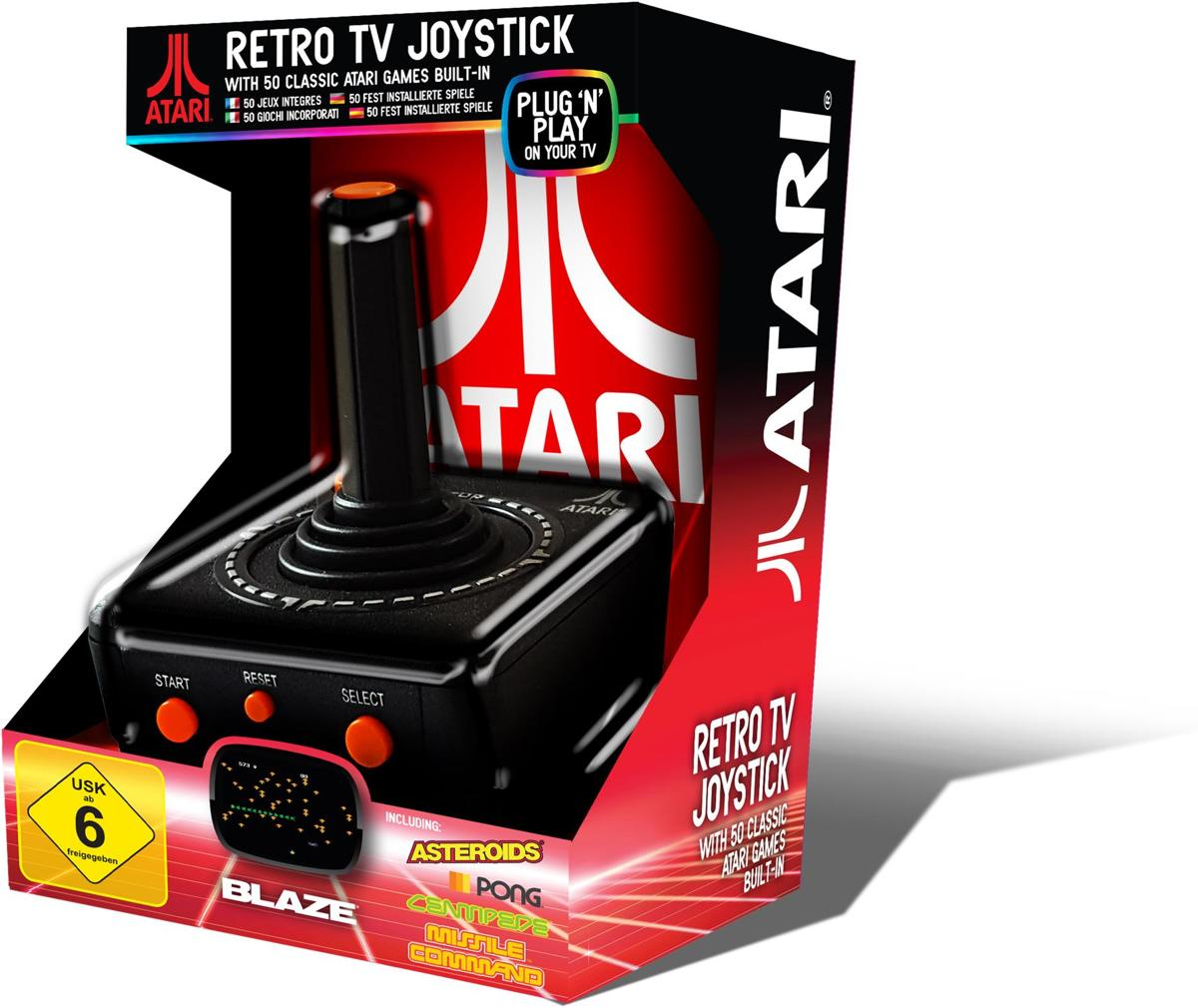 Retro TV Joystick - Plug & Play (50 games)