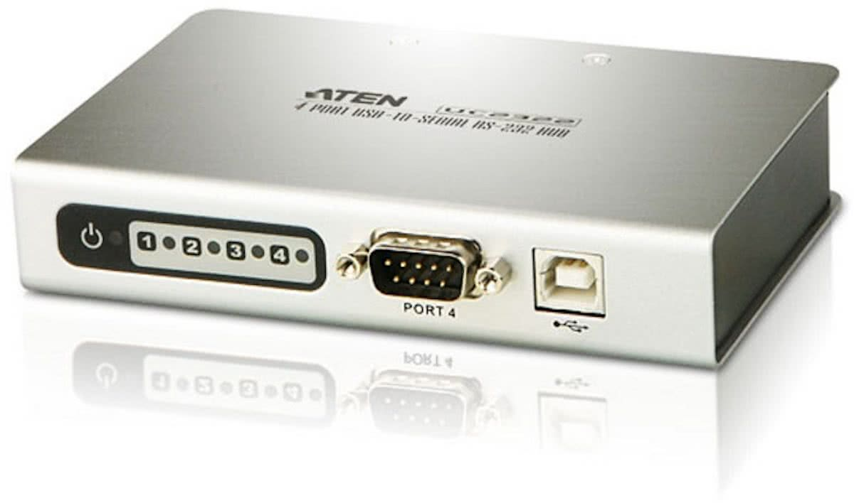 USB / Converter 4 port USB2.0-to-SerialHUB for RS-232