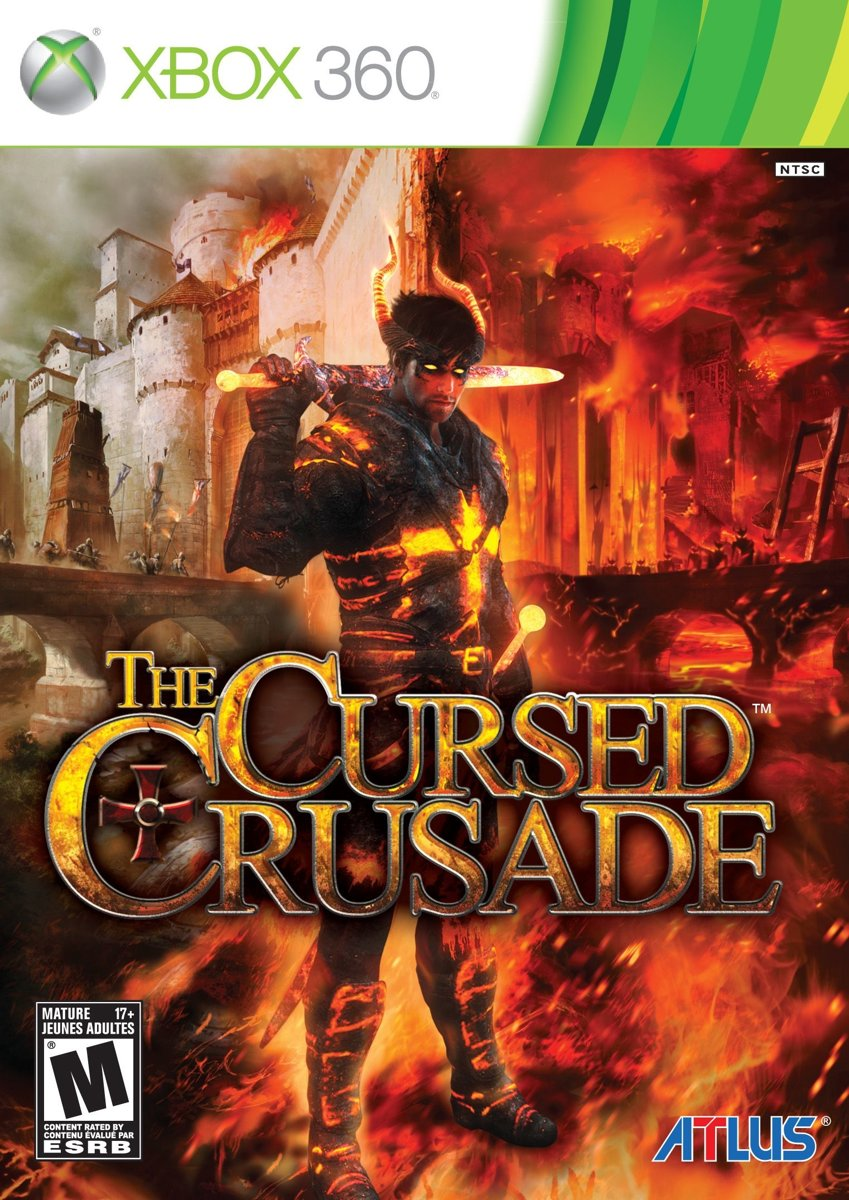 The cursed crusade, Xbox 360 Xbox 360 video-game