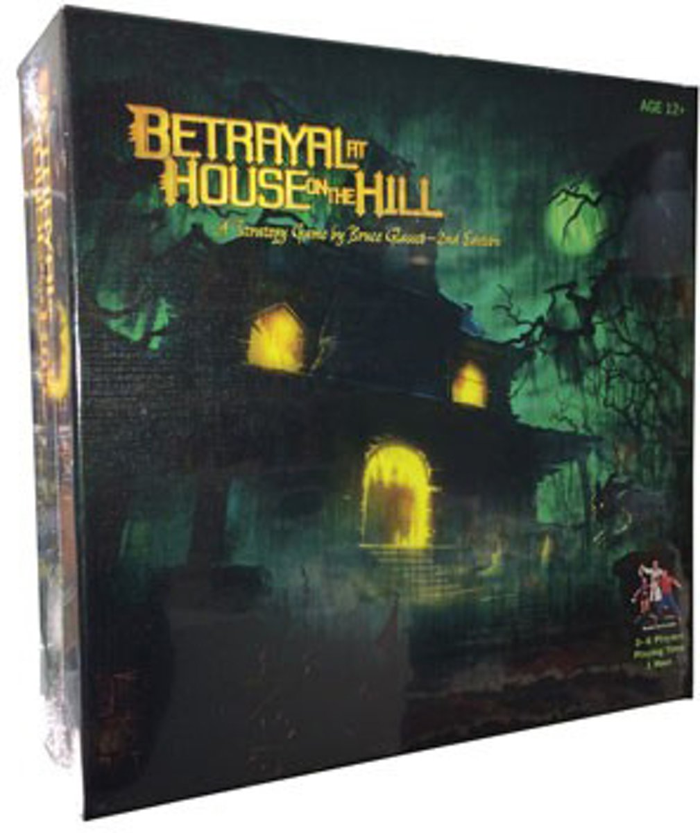 Betrayal At The House On The Hill - Bordspel
