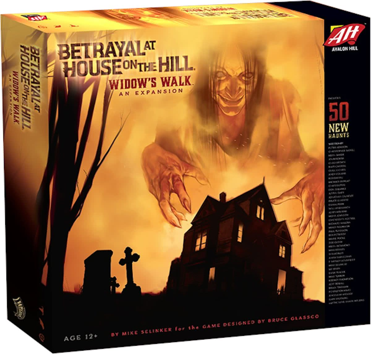 Betrayal at House on the Hill Widows Walk - Uitbreiding