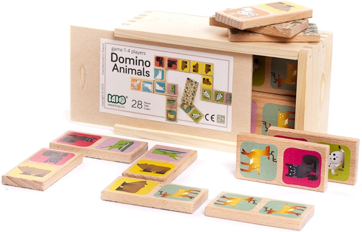 Bajo Domino Animals