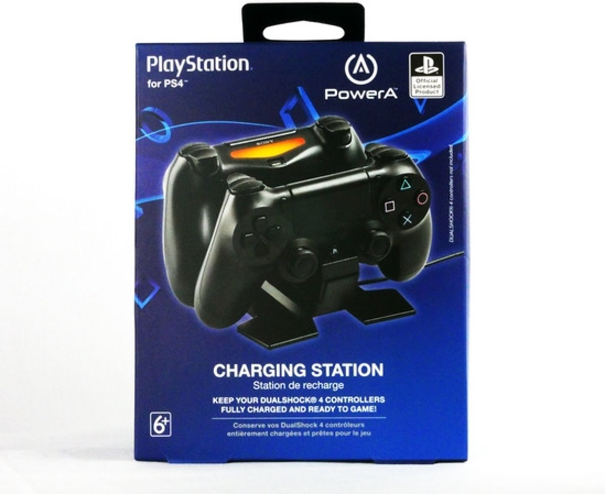 - Dual Charging Station PS4 - Official Licensed Product MIX PS4