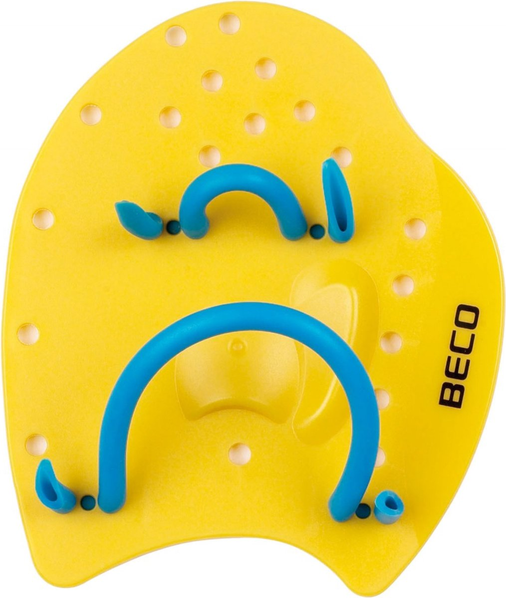 BECO Power Paddles, maat S - geel
