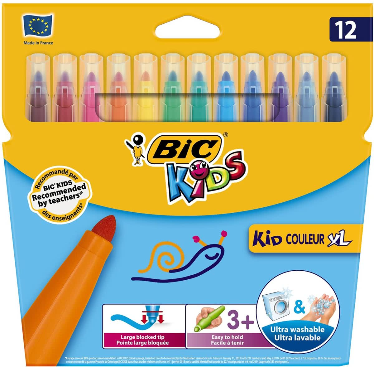 Kids Kid Couleur XL, 12st.