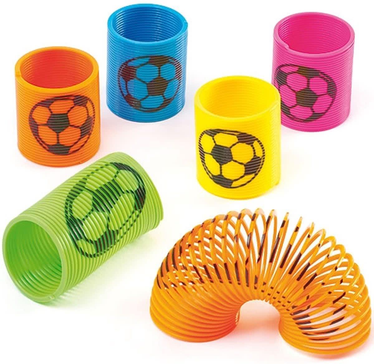 Magische Springveren Met Voetbal Speelgoed Voor Kinderen