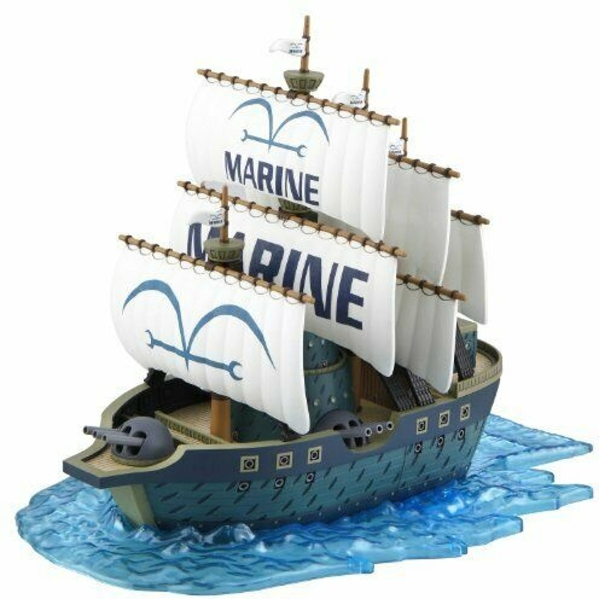 Bandai Grand Ship Collection Modelbouw Marine Warrior 15 Cm
