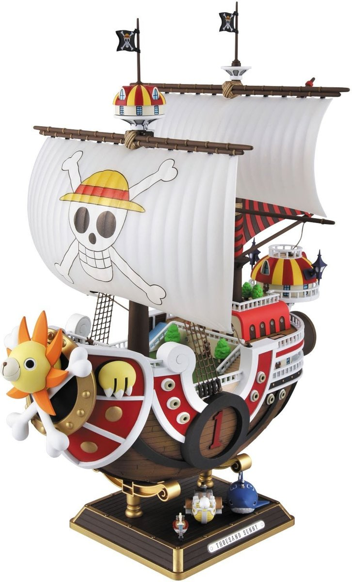 Bandai One Piece Collection Modelbouw Thousand Sunny 30 Cm