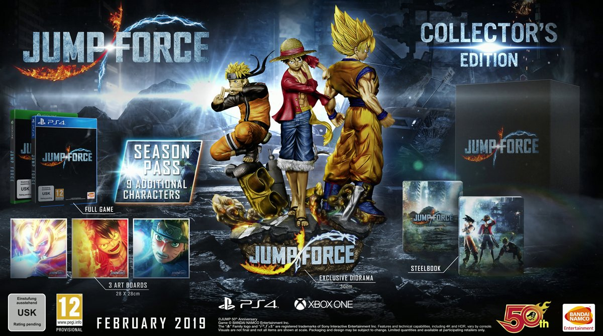 Jump Force - Collectors Edition - Xbox One