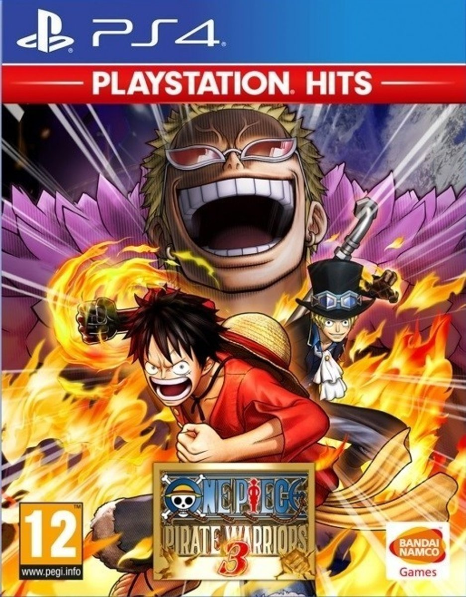 One Piece: Pirate Warriors 3 (PlayStation Hits) - PS4