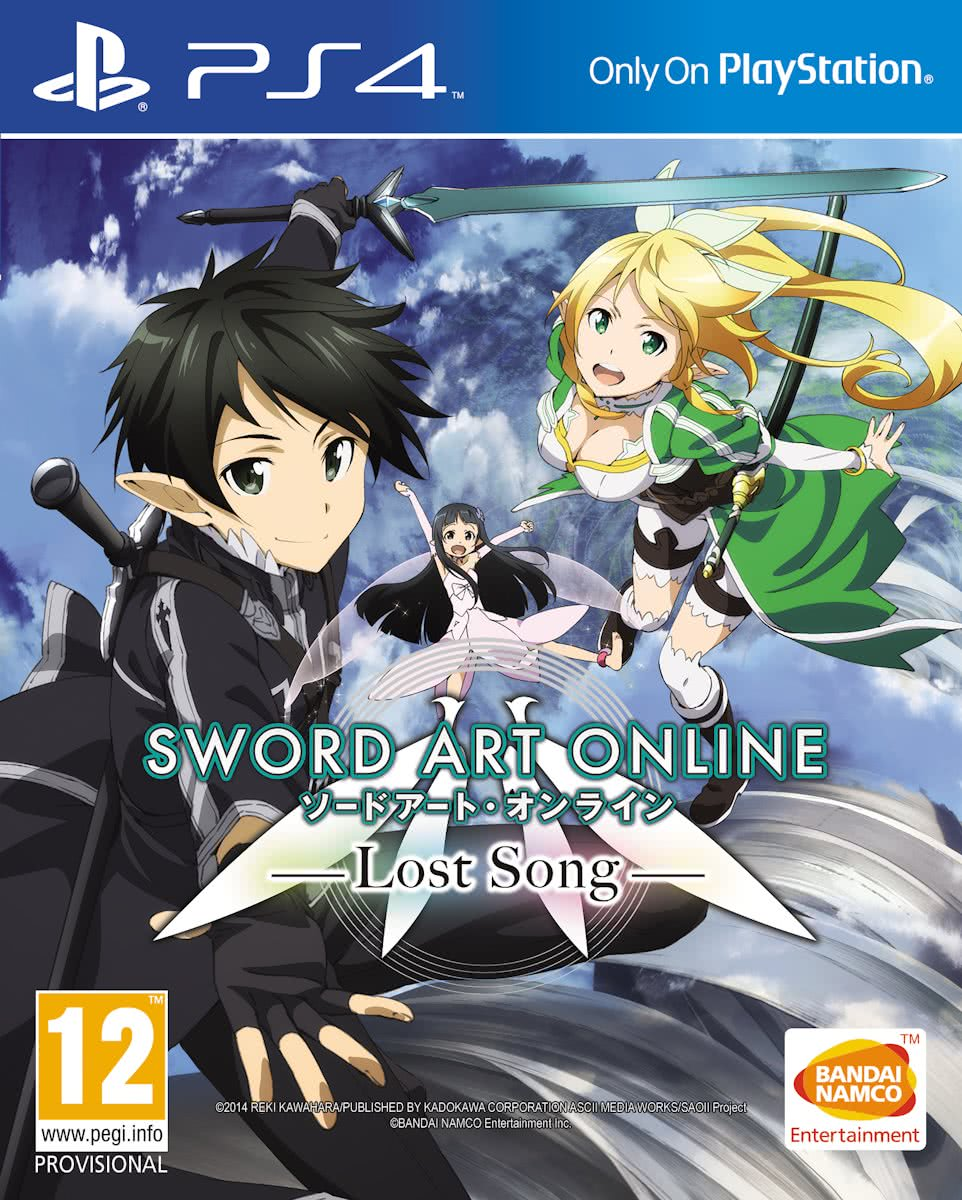 Sword Art Online: Lost Song - PS4