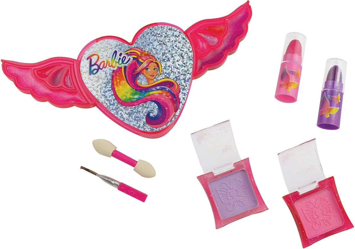 Barbie Barbie Make-up Set Roze