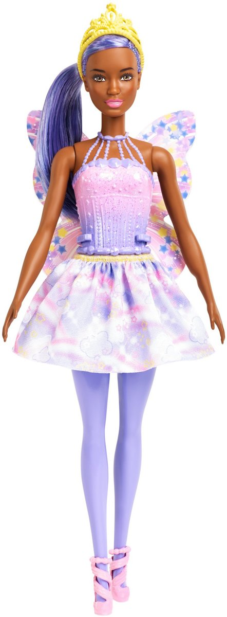Barbie Dreamtopia Fee Paars - Barbiepop