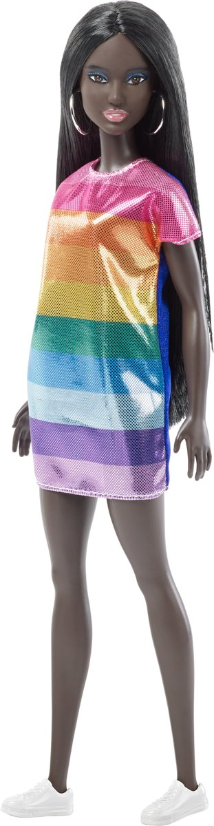 Fashionistas Rainbow Sparkle Dress AA - Original -  pop