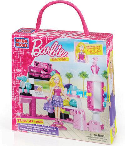 Mega Bloks Barbie Build n Style Speelset