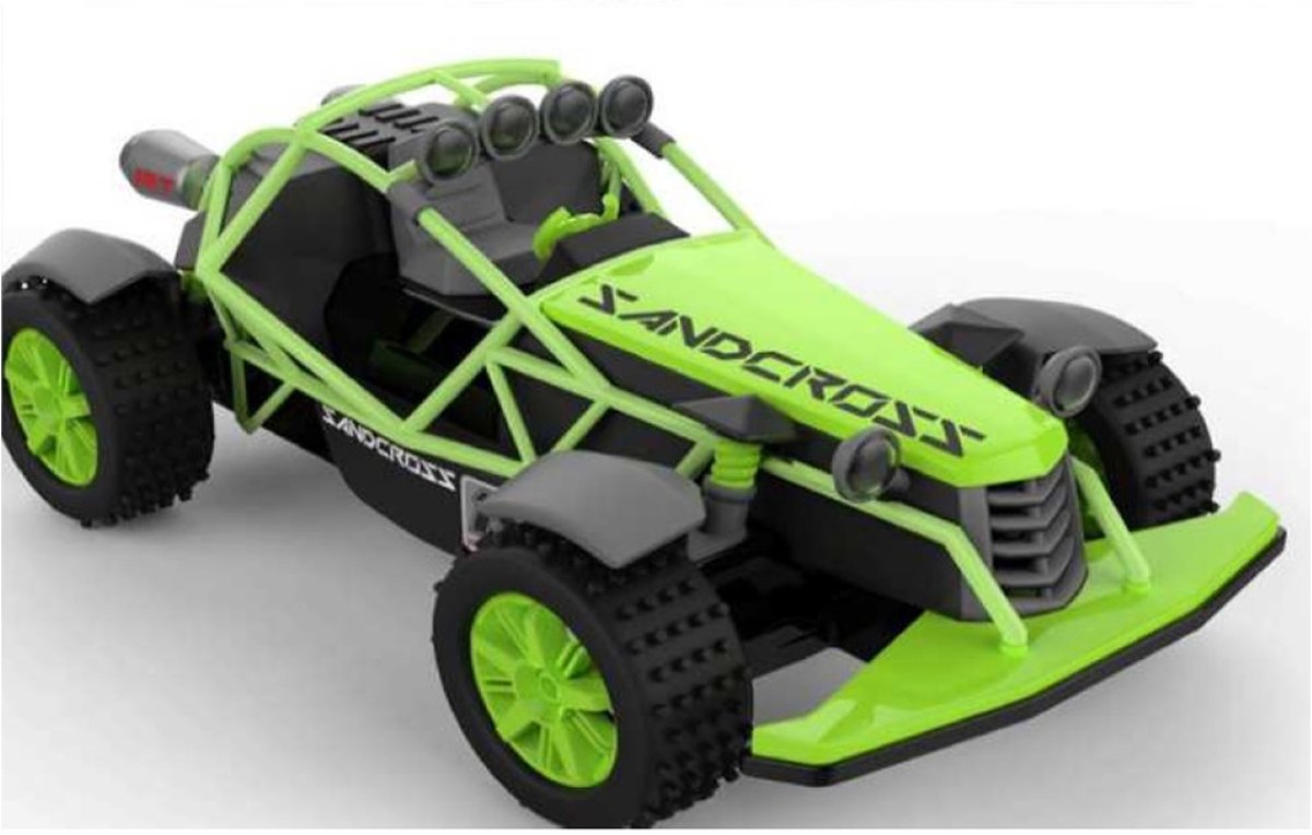 RC Buggy Sandcross Groen 1:18