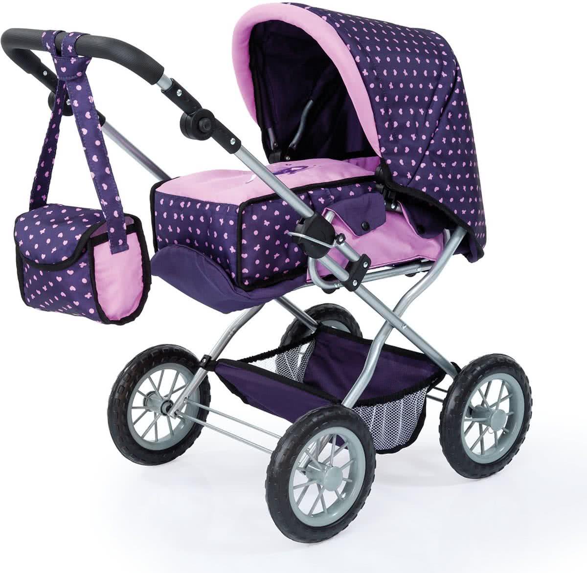 Poppen & Knuffels Babypoppenwagen
