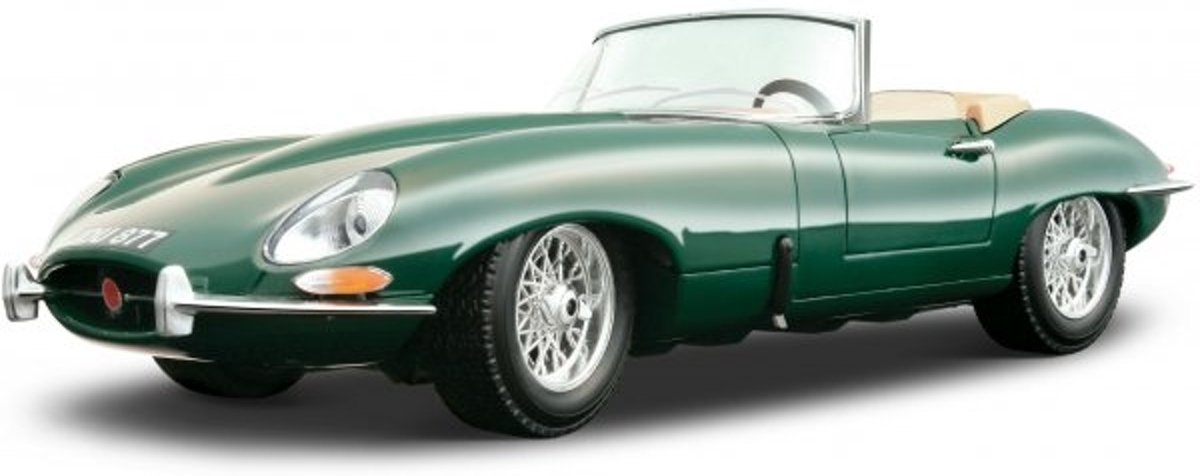 bburago jaguar e type cabrio 1961 4893993120468. Black Bedroom Furniture Sets. Home Design Ideas
