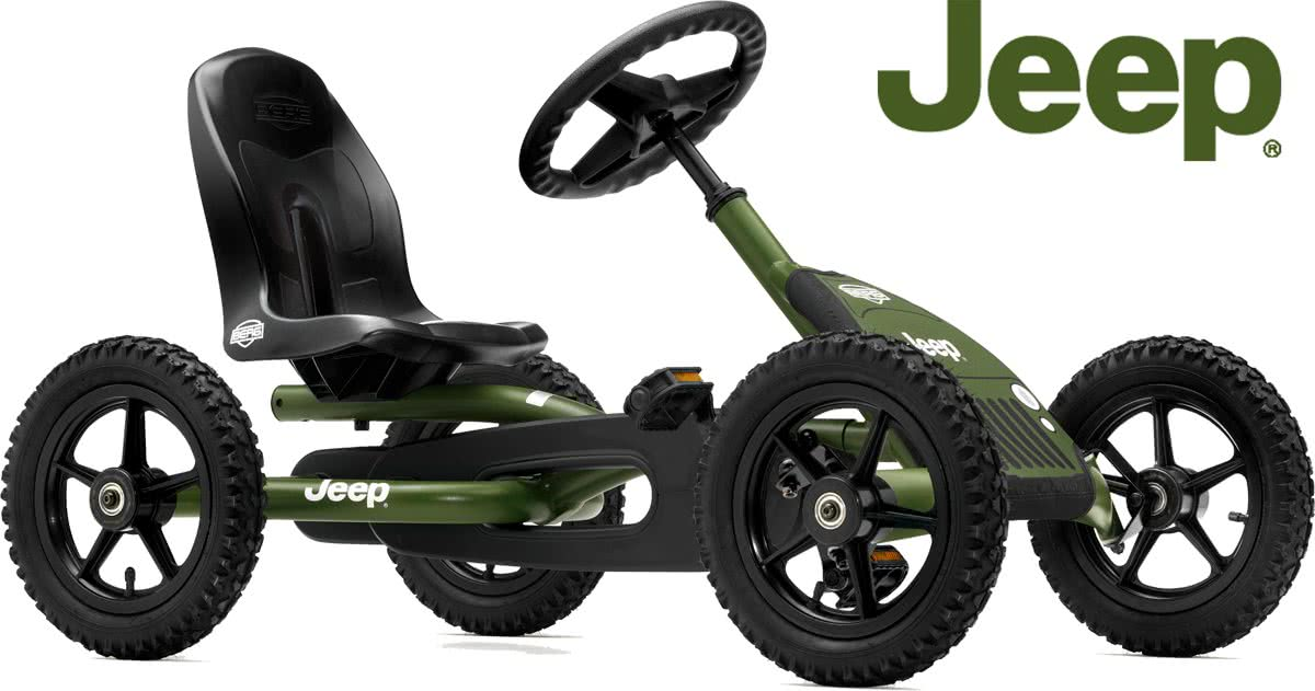 BERG Jeep® Junior Pedal go-kart -